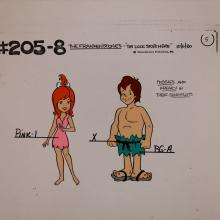 The Flintstones Frankenstones Model Cel - ID: janflintstones2585 Hanna Barbera