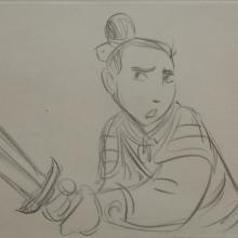 Mulan Storyboard Drawing - ID: janmulan2444 Walt Disney