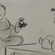 Mulan Storyboard Drawing - ID: janmulan2451 Walt Disney