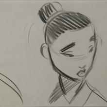Mulan Storyboard Drawing - ID: janmulan2455 Walt Disney