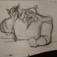 Mulan Production Drawing - ID: janmulan2498 Walt Disney