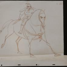 Mulan Production Drawing - ID: janmulan2501 Walt Disney