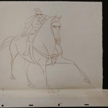 Mulan Production Drawing - ID: janmulan2502 Walt Disney