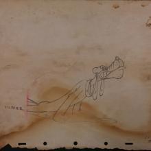 Pluto Bone Trouble Production Drawing - ID: janpluto2768 Walt Disney