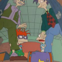 Rugrats Production Cel & Background - ID: janrugrats3151 Nickelodeon