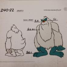 Smurfs Model Cel - ID: jansmurfs2559 Hanna Barbera