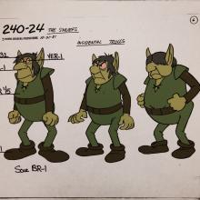 Smurfs Model Cel - ID: jansmurfs2560 Hanna Barbera