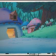 Smurfs Production Background - ID: jansmurfs2663 Hanna Barbera