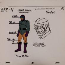 Teen Force Model Cel - ID: janteenforce2578 Hanna Barbera
