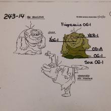 Trollkins Model Cel - ID: jantrollkins2564 Hanna Barbera