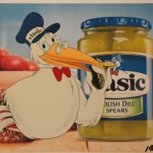 Vlasic Pickles Stork Production Cel - ID: janvlasic2656 Commercial
