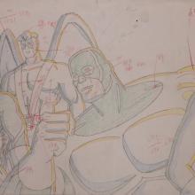 X-Men Layout Drawing - ID: janxmen2868 Marvel