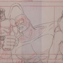 X-Men Layout Drawing - ID: janxmen2869 Marvel