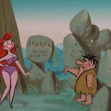 The Flintstones Original Concept Art - ID: junflintstones9214 Hanna Barbera