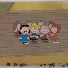 Peanuts Production Cel - ID: junpeanuts0169 Bill Melendez