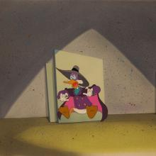Darkwing Duck Cel and Background - ID:mardwing6629 Walt Disney