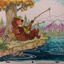 The Yogi Bear Show Publicity Art - ID: mayyogi6814 Hanna Barbera
