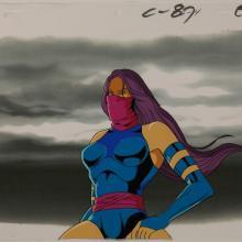 X-Men Psylocke Production Cel - ID:octxmen0413 Marvel