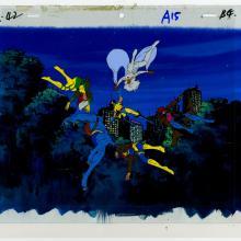 X-Men Production Cel & Background - ID: septxmen6560 Marvel