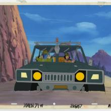X-Men Beast and Jubilee Matching Cel & Background - ID: septxmen8030 Marvel