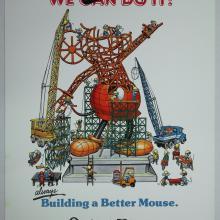 1978 EPCOT Tokyo Disneyland Poster - ID: aprdisneyland17331 Disneyana