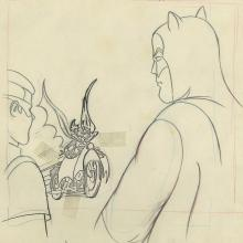Batman Opening Title Layout Drawing - ID: janbatman9046 Filmation