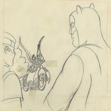 Batman Opening Title Layout Drawing - ID: janbatman9046 Filmation