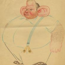 Disney Animator's Gag Drawing - ID: janthee9111 Walt Disney