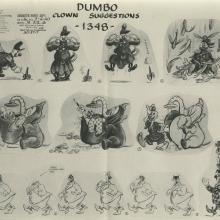 Dumbo Model Sheet - ID: julydismodel17983 Walt Disney