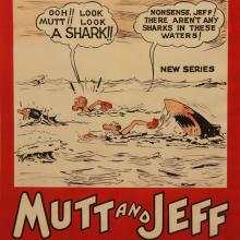Mutt & Jeff One Sheet Poster - ID: maybigswim17005 Bud FisherFilms