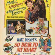 So Dear to My Heart Window Card - ID: maysodear17413 Walt Disney