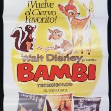 Bambi One Sheet Poster - ID: novbambi17239 Walt Disney