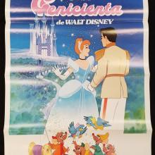 Cinderella One Sheet Poster - ID: novcinderella17623 Walt Disney