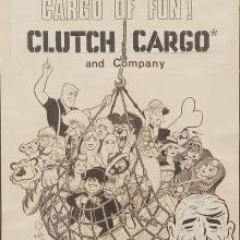 Clutch Cargo Merchandising Art - ID: novclutch17996 Cambria