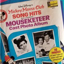 Mickey Mouse Club Disneyland Records Poster - ID: novdisney17451 Walt Disney