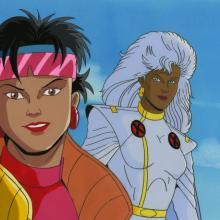 X-Men Cel and Background - ID: octxmen17112 Marvel
