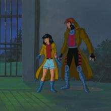 X-Men Cel and Background - ID: octxmen17177 Marvel
