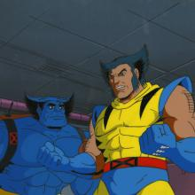 X-Men Cel and Background - ID: octxmen17231 Marvel