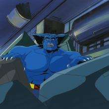 X-Men Cel and Background - ID: octxmen17241 Marvel