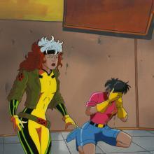 X-Men Cel and Background - ID: octxmen17272 Marvel