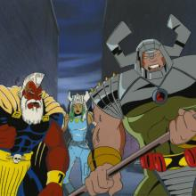 X-Men Cel and Background - ID: octxmen17297 Marvel