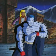 X-Men Cel and Background - ID: octxmen17300 Marvel