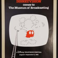 Disneyvision Exbition Poster - ID: aprdisneyana18721 Disneyana