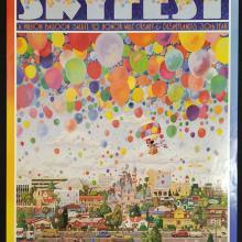 Disneyland Anaheim Skyfest Poster - ID: aprdisneyland18419 Disneyana