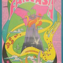 1970 Fantasia Signed One Sheet Poster - ID: novfantasia18355 Walt Disney