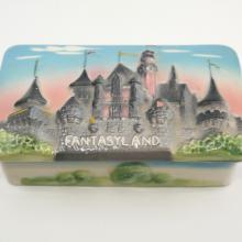 Disneyland Fantasyland 3-D Trinket Box - ID: octdisneyana18435 Disneyana