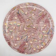 1940 Fantasia Milkweed Ballet Large Plate - ID: octdisneyana18769 Disneyana