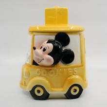 1970s Mickey Mouse Bus Cookie Jar - ID: octdisneyana18790 Disneyana