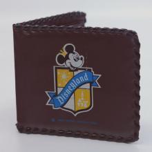 1950s Disneyland Brown Plastic Wallet - ID: octdisneyana18949 Disneyana