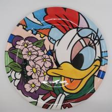 Daisy Duck Plate - ID: octdisneyana18426 Disneyana